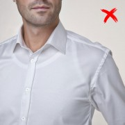 Covert Underwear Neviditeľné pánske tielko pod košeľu Veľkosť: S Slim
