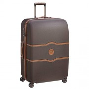 Delsey Chatelet Air 82cm Extra Large 4-Wheel Suitcase - Chocolate