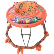 Oh Baby Baby 8 Wheel Orange Color Walker For Your Kids Se-W-06