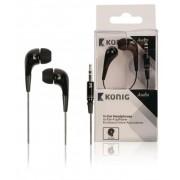 Hoofdtelefoon In-Ear 3.5 mm Zwart