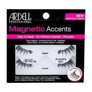 Ardell Magnetic Accents Accents 001 magnetické řasy 1 ks odstín Black pro ženy