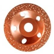 Disc oala cu carburi metalice Mediu Supraf Conica D=115