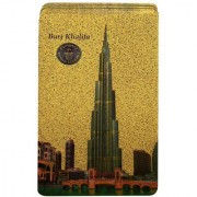 Gold Dust's Burj Khalifa Playing Card