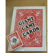 Giant Game Card Decks