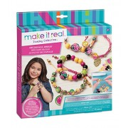 Make It Real Decoupage-a-Bead Jewelry. DIY Wooden Beads & Paper Decoupage Bracelet Making Kit for Girls. Design and Create Unique Tween Bracelets with Wooden Decoupage Beads & Beautiful Charms