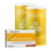 BEAVITA, Double pack Vitalkost substitut de repas + Bloqueur de glucides