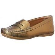 Clarks Women's Doraville Nest Gold Sneakers - 7 UK/India (41 EU)