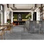 Gresie portelanata Sintesi Italia, Ambienti Antracite 60,4x30 cm -AMBA300604