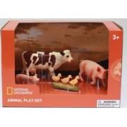 Set 4 figurine National Geographic Animalutele de la ferma
