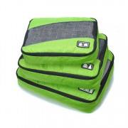 Edge Travel [3 Pack] Packing Cubes Bag Lime