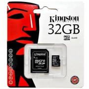 Kingston Memory Card Microsd Hc 32 Gb + Adattore Classe 10 Per Modelli A Marchio Motorola