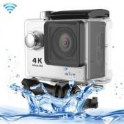 H9 4K Ultra HD1080P 12MP 2 inch LCD Screen WiFi Sports Camera - Silver