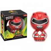 Figurine Power Rangers - Red Ranger Glow In The Dark Exclu Dorbz 8cm
