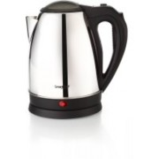 Greenchef KT-12L Electric Kettle(1.2 L, Silver)