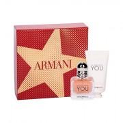 Giorgio Armani Emporio Armani In Love With You confezione regalo eau de parfum 30 ml + crema mani 50 ml donna