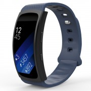 Curea silicon Tech-Protect Smooth Samsung Gear Fit 2/2 Pro Navy
