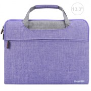 HAWEEL Breathable Waterproof Shockproof Oxford Sleeve Pouch for 13-inch Laptops/Tablets - Purple