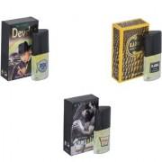 Skyedventures Set of 3 Devdas-Kabra Yellow-Romantic Perfume