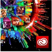 Adobe Creative Cloud for teams All apps with Adobe Stock MP ML (beleértve a CZ-t) Commercial, elektr