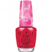Opi - sheer tints top coat smalto per unghie 15 ml - be magentale with me