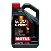 Motul 8100 X-CLEAN 5W-40 4L motorolaj