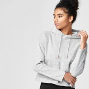 Myprotein Luxe Classic Hoodie - L - Grey Marl