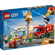 LEGO City - Stingerea incendiului de la Burger Bar 60214