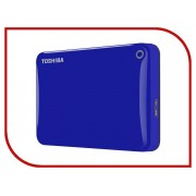 Жесткий диск Toshiba Canvio Connect II 2Tb Blue HDTC820EL3CA