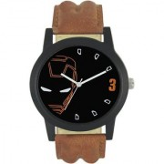 new stylish leather strap Iron Man watch FX-MW-012