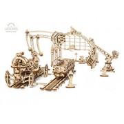 Puzzle 3D - Manipulator pe sine, 356 piese