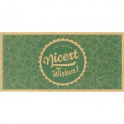 "Nicest Wishes! - Buono Acquisto Stampato su Carta Riciclata - Buono """"Nicest Wishes!"