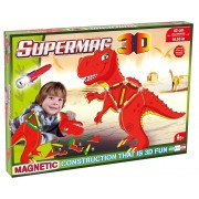 SUPERMAG 3D - JUCARIE CU MAGNET T-REZ - SUPERMAG (SM0608)
