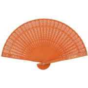 Orange Sandalwood Fans