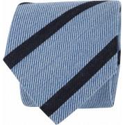 Suitable Krawatte Streifen Hellblau - Blau