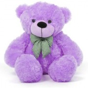 3 feet Purple Huggable And Loveable For Someone Special Teddy Bear