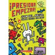 Fin del Juego, Super Chico Conejo!: Un Libro de la Serie Branches (Presiona Empezar! #1): Un Libro de la Serie Branches = Game Over, Super Rabbit Boy!, Paperback