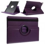 Bolsa em Pele Rotativa para iPad Air 2 - Roxo
