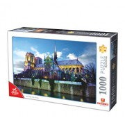 Puzzle Franta - Notre Dame, 1000 piese