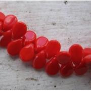 Preciosa Pip - Opaque Red, 1 sträng