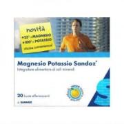 Sandoz SPA Magnesio Potassio Sandoz 20 Bustine