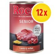Rocco Fai scorta! Rocco Senior 12 x 400 g - Carni bianche con Fiocchi d'avena
