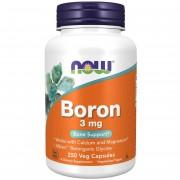 Now Foods Boron 3 mg 250 kapslí - 250 kapslí