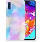 Hoesje maken Samsung Galaxy A70 Watercolor Light