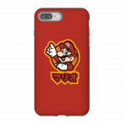 Nintendo Funda móvil Nintendo Super Mario Mario Kanji para iPhone y Android - iPhone 8 Plus - Carcasa doble capa - Brillante