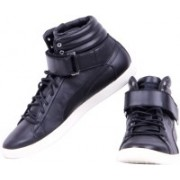 Puma Modern Court Hi Citi Series Casual Shoes For Men(Black)