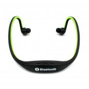 Audifonos Bluetooth Manos Libres V4.1 Estéreo Handfree Del Deportivos Del Neckband De La Música De La Ayuda TF Tarjeta Micro Del SD Para Todos Los Teléfonos (verde)