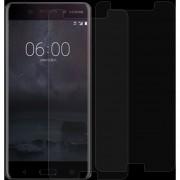 2 PCS Para Nokia 6 0.26mm 9h Dureza Superficial 2.5D Vidrio Curvado Templado, Protector De Pantalla De Cine