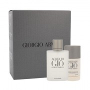 Giorgio Armani Acqua di Giò Pour Homme confezione regalo Eau de Toilette 100 ml + deostick 75 ml Uomo