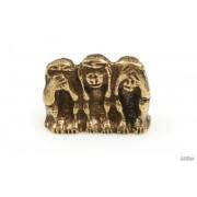 Jubileo.pl FIGURKA TRZY MĄDRE MAŁPY amulety talizmany