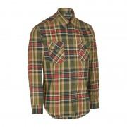 Deerhunter Men's Gabriel Shirt With Suede Details Grön